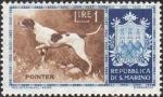 Sellos de Europa - San Marino -  Perro de raza