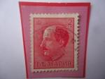 Stamps : Europe : Bulgaria :  Boris III (1894-1943)- Monarca de Bulgaria entre 1918 al 1943 - Sello 2 lev búlgaro, año 1940