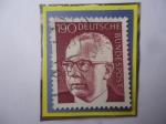 Stamps : Europe : Germany :  Gustatav Walter Heinemann (1899-1776)- Presidente Republica Federal de Alemania (1969-1974)