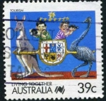 Sellos de Oceania - Australia -  Turismo