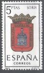 Sellos de Europa - España -  1639 Escudos de capitales de provincias españolas.Soria