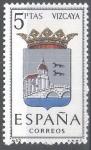 Sellos de Europa - España -  1699 Escudos de capitales de provincias españolas. Vizcaya
