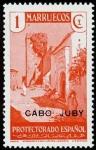 Sellos de Africa - Marruecos -  Cabo Juby 067 **. Paisajes.