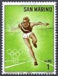 Sellos del Mundo : America : San_Marino : Juegos Olímpicos. Tokyo