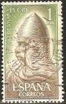 Stamps Spain -  el cid campeador