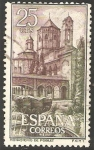 Stamps Spain -  1494 - Real Monasterio de Santa María de Poblet