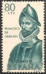 Stamps Spain -  1680 - Forjador de América, Francisco de Orellana