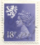 Stamps of the world : United Kingdom :  Reina Isabel II