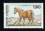 Stamps Andorra -  serie- Protección de la Naturaleza