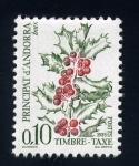Stamps Europe - Andorra -  serie- Frutas y bayas del bosque
