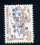 Stamps Andorra -  serie- Frutas y bayas del bosque
