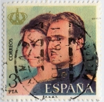 Stamps : Europe : Spain :  Reyes de España