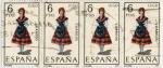 Stamps : Europe : Spain :  Trajes típicos españoles
