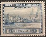 Stamps : America : Paraguay :  Puerto de Asuncion