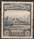 Stamps Paraguay -  Puerto de Asuncion