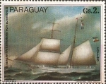 Stamps Paraguay -  Barcos Alemanes