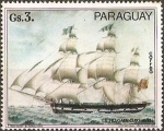 Sellos de America - Paraguay -  Barcos Alemanes