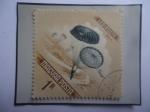 Stamps Hungary -  Paracaidismo - Sello de 1 Florín, año 1954