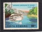 Stamps Romania -  Barcos