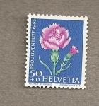 Stamps Switzerland -  Pro Juventute 1963