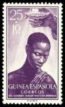 Sellos del Mundo : Africa : Guinea_Ecuatorial : 345 Guinea Española **. Sacerdotes