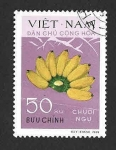 Sellos de Asia - Vietnam -  609 - Plátanos