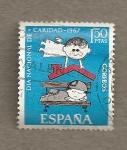 Sellos de Europa - España -  Dia Nacional de Caridad 1967