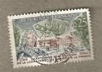 Stamps France -  Bicentenario unión orena a Francia
