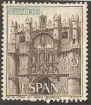 Sellos de Europa - España -  arco de santa maría de burgos