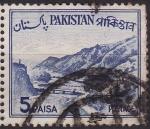 Sellos de Asia - Pakistán -  Paisaje