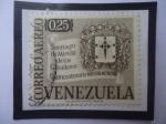 Stamps : America : Venezuela :  Santiago de Mérida de los Caballeros - Cuatricentenario 1558-1958 - Escudo de Armas.