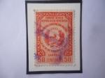 Stamps : America : Venezuela :  Primera Convención Postal (Del 9 al 15 de Feb. de 1954)