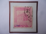 Stamps : America : Venezuela :  Oficina Principal de Correos Caracas- Sello de 35 Céntimos, año 1953