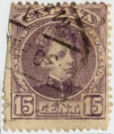 Stamps : Europe : Spain :  Alfonso XIII tipo Cadete