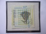 Stamps : America : Venezuela :  Cotyledon Hispánica- 250 años del nacimiento del Botánico Británico Pedro Loefling 1729-1980.