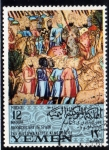 Stamps Yemen -  Arte arabe en España