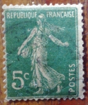 Stamps of the world : France :  Francia