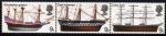 Stamps United Kingdom -  Buques celebres: Galeon, East Indiamen, Cutty Sark