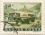 Stamps of the world : Hungary :  MOZGOPOSTA