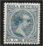 Sellos del Mundo : America : Cuba : King Alfonso XIII