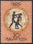 Stamps : Europe : Hungary :  boxeo