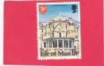 Sellos del Mundo : Europa : Isla_de_Man : EDIFICIO GUBERNAMENTAL