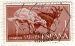 Stamps : Europe : Spain :  4 SAHARA
