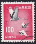 Stamps : Asia : Japan :  garzas