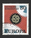 Sellos del Mundo : Europa : Alemania : 970 - EUROPA