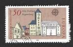 Sellos del Mundo : Europa : Alemania : 1271 - Ayuntamientos Antiguos (EUROPA CEPT)