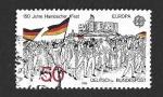 Sellos del Mundo : Europa : Alemania : 1372 - 150 Años de la Reunión de Reunión de Hambach (EUROPA CEPT)