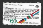 Sellos del Mundo : Europa : Alemania : 1373 - 150 Años de la Reunión de Reunión de Hambach (EUROPA CEPT)