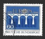 Sellos de Europa - Alemania -  1415 - XXV Aniversario de EUROPA
