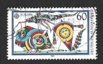 Sellos del Mundo : Europa : Alemania : 1573 - Cometas (EUROPA CEPT)